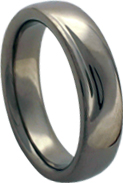 palladium white gold wedding band